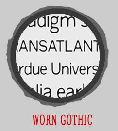 Worn Gothic