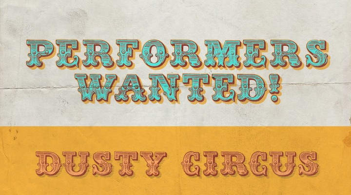 Dusty Circus All Fonts
